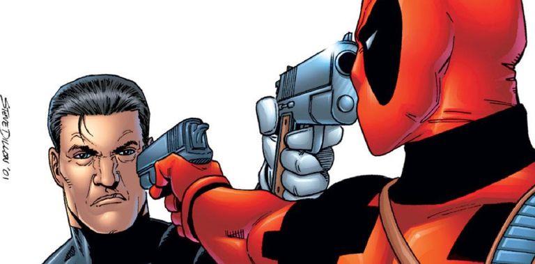 Deadpool vs. Punisher by Steve Dillon