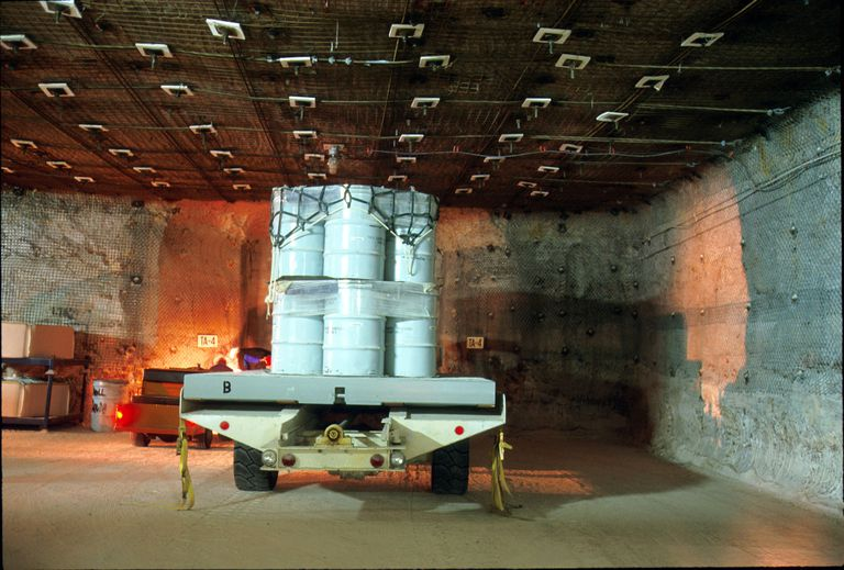 Nuclear waste disposal site in New Mexico