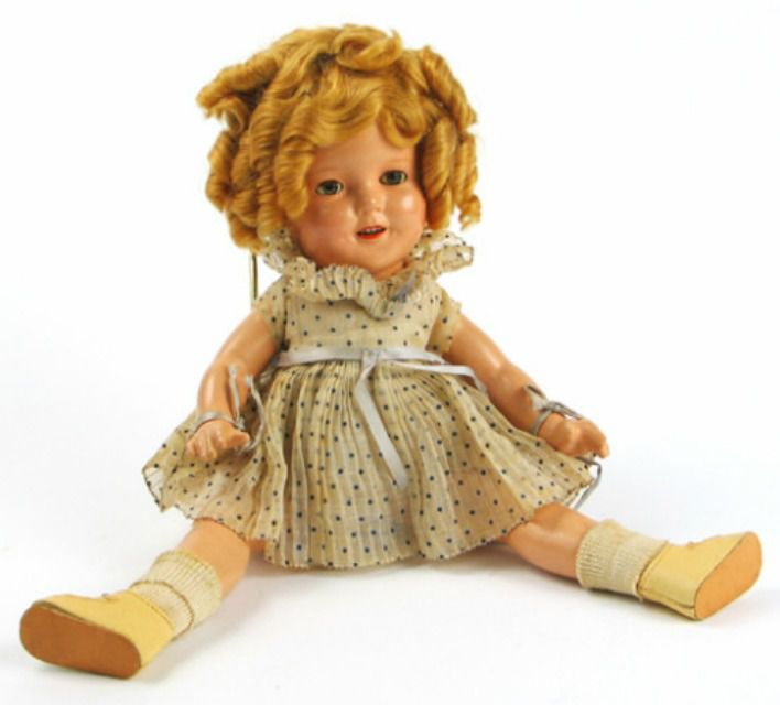 All About Shirley Temple Dolls