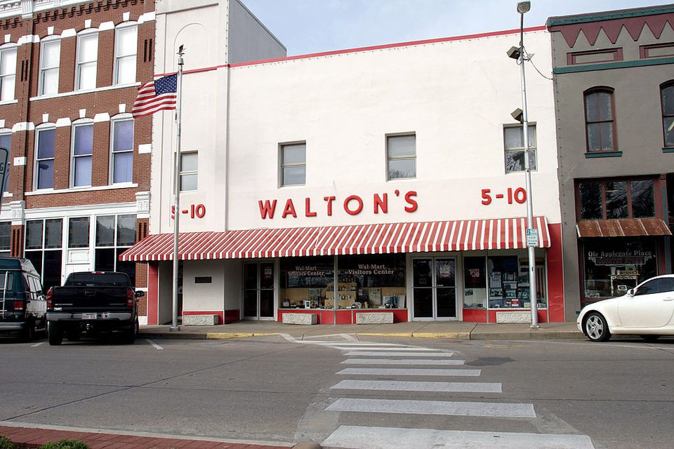 The Wal-Mart Museum Storefront