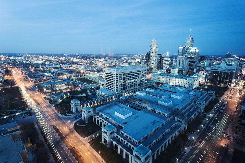 Indianapolis City View