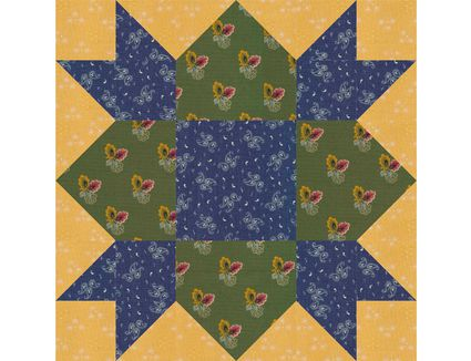 All Hallows Quilt Block Pattern In 2 Sizes