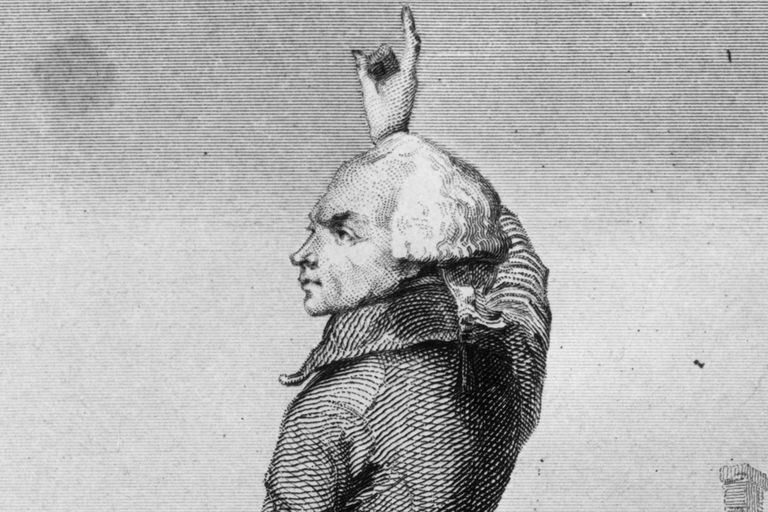 Maxmilien Robespierre, one of twelve heads of the new state, had enemies of the French revolution killed, and installed a dictatorship to stabilize the country