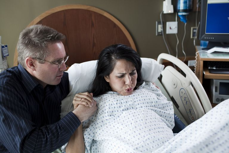 Couple in labor