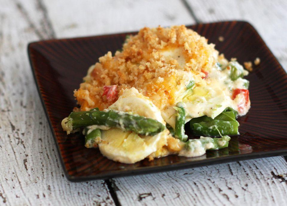 Asparagus Casserole With Eggs