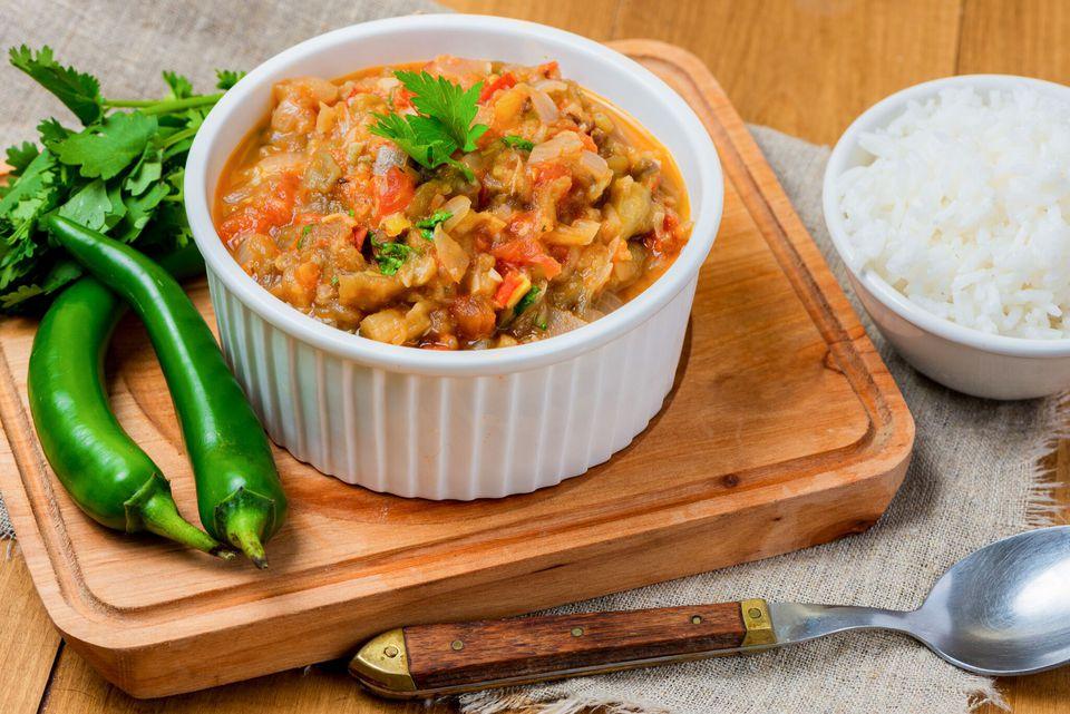 Punjabi Eggplant