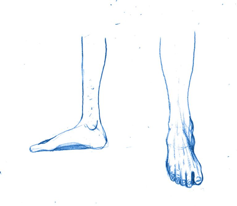 How To Draw Manga Feet