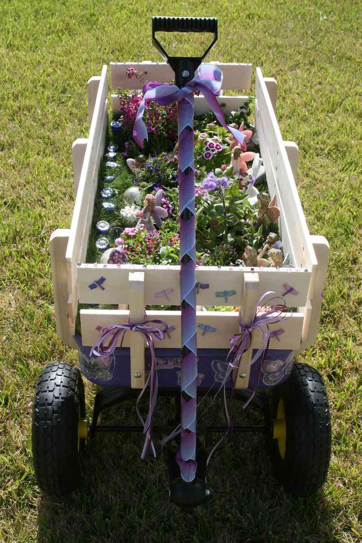 Fairy Garden Wagon