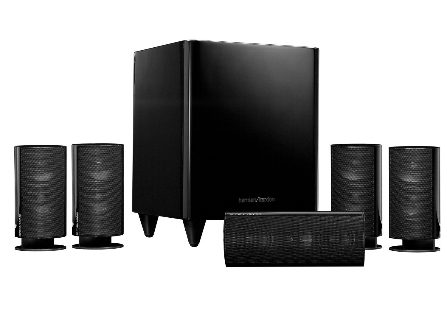 Harman Kardon Hkts 20 5 1 Channel Speakers Review