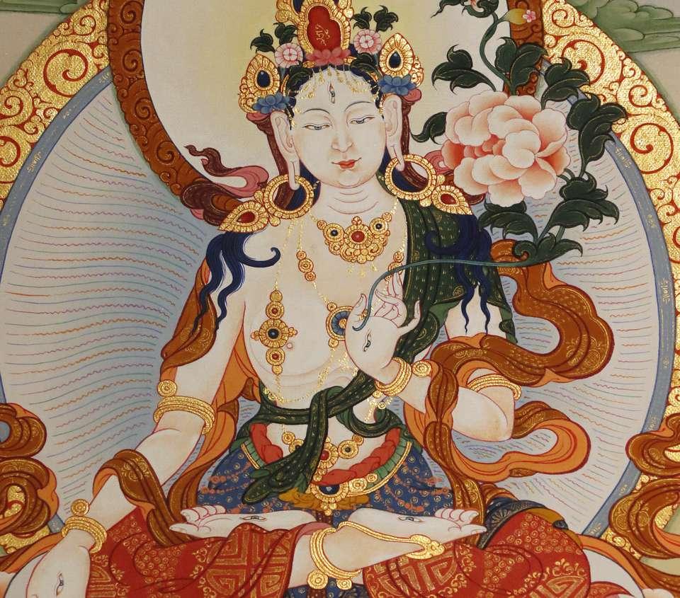 White Tara deity