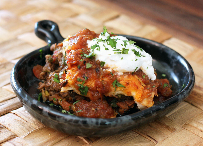 Easy Burrito Casserole Recipe With Ground Beef