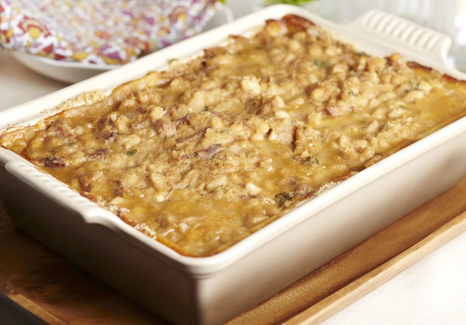 Baked White Bean and Lamb Casserole