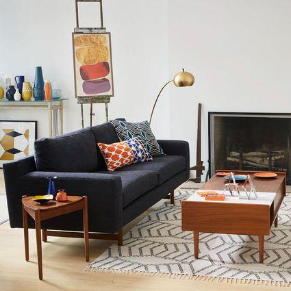Mid-Century Modern Living Room Elements