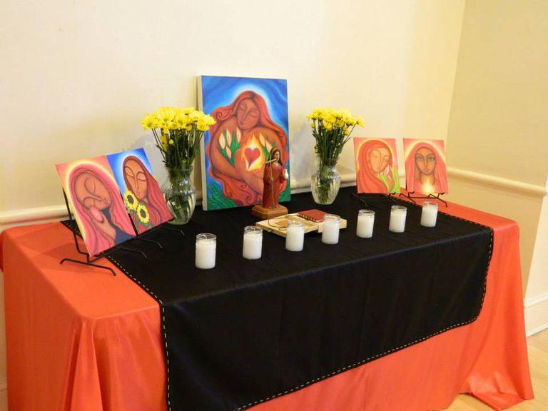 Altar a María Magdalena por Tanya Torres