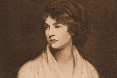 woolf on mary wollstonecraft Other famous individuals such as ts eliot, charlotte bronte, and virginia  woolf  the love letters of mary wollstonecraft to gilbert imlay.