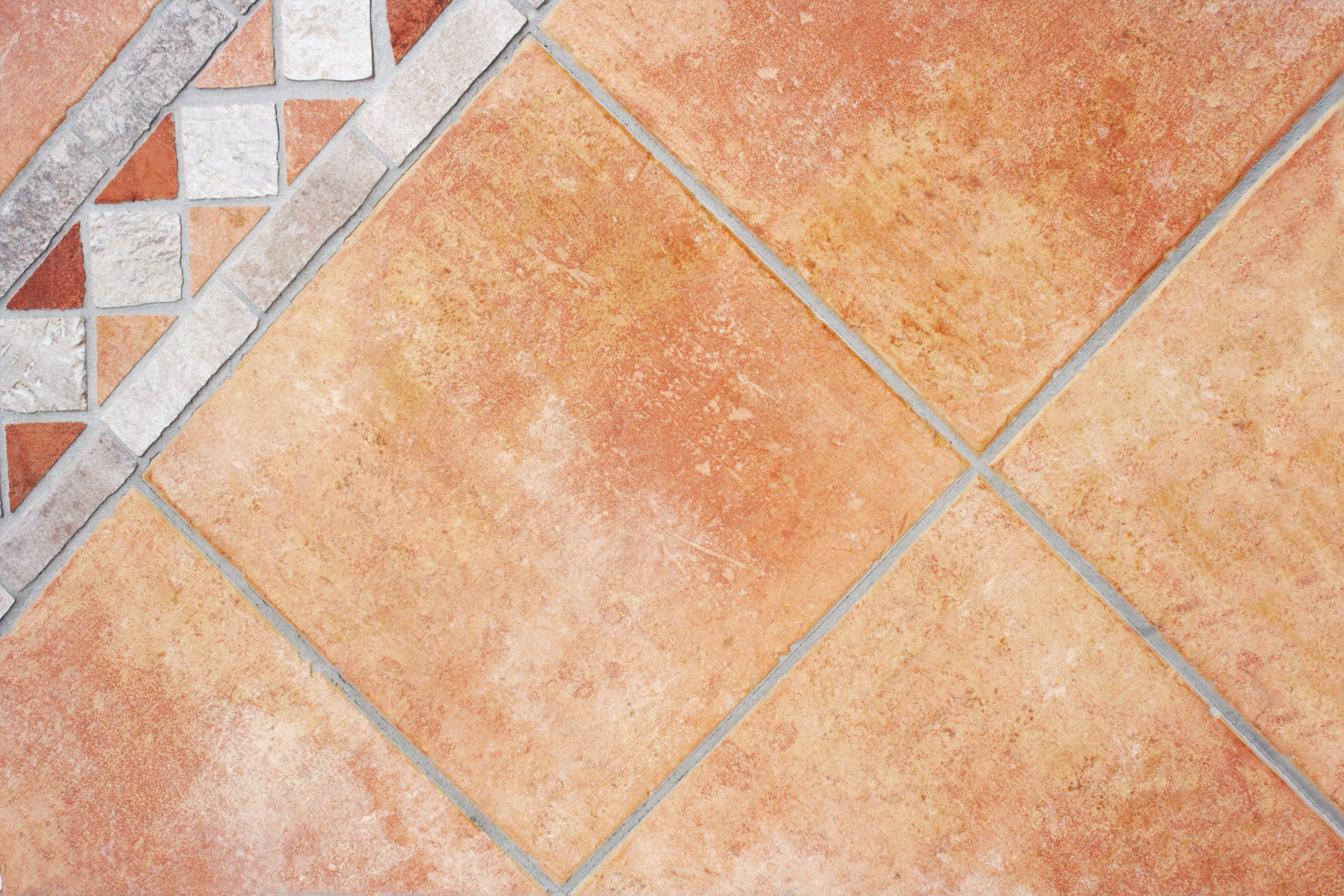 3 ways to give your flooring a rustic tuscan look painting a faux terra cotta floor on concrete dailygadgetfo Image collections
