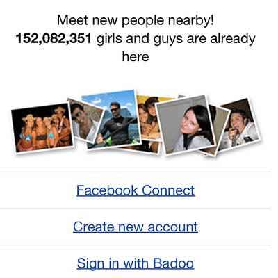 how to use badoo in online mode