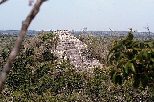 Structure I at Calakmul