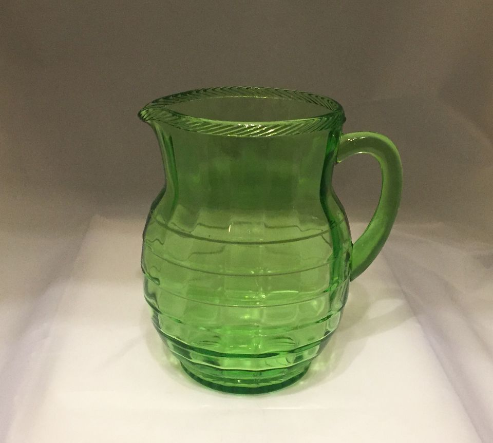 Depression glass price guide and pattern identification for Glass block r value