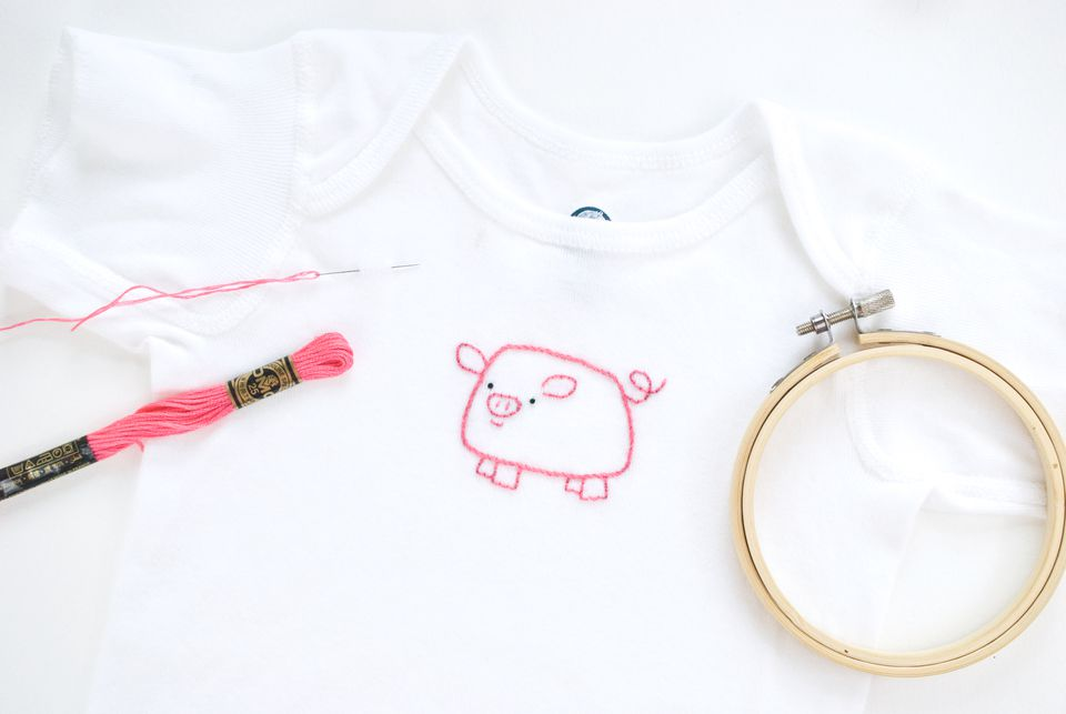 How to Hand Embroider on T-Shirts