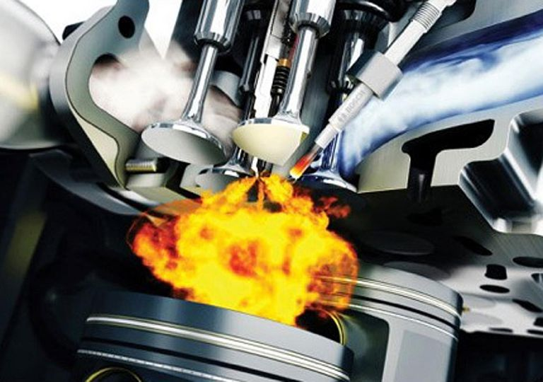 Modern diesels have computer controlled fuel injectors that can be fired in rapid succession several times during the injection cycle.