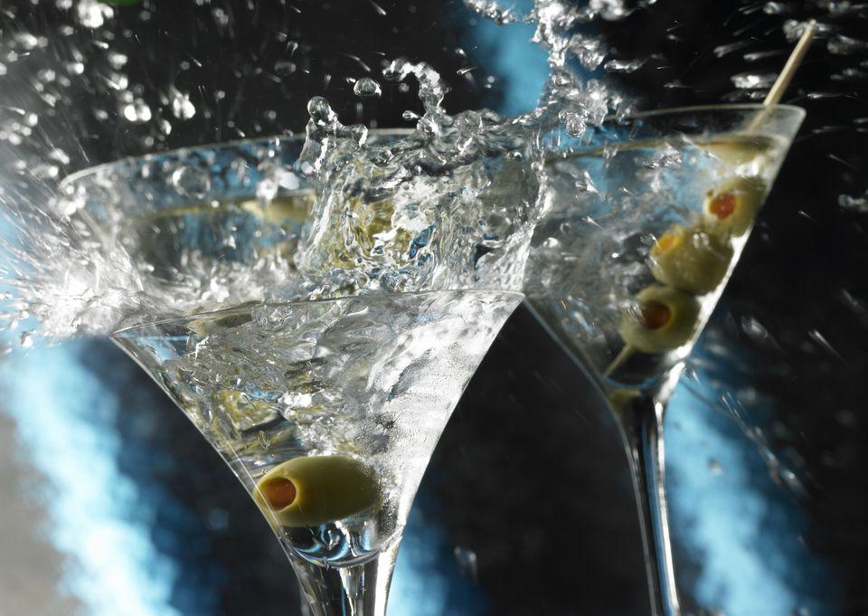 Martini Toast Splash