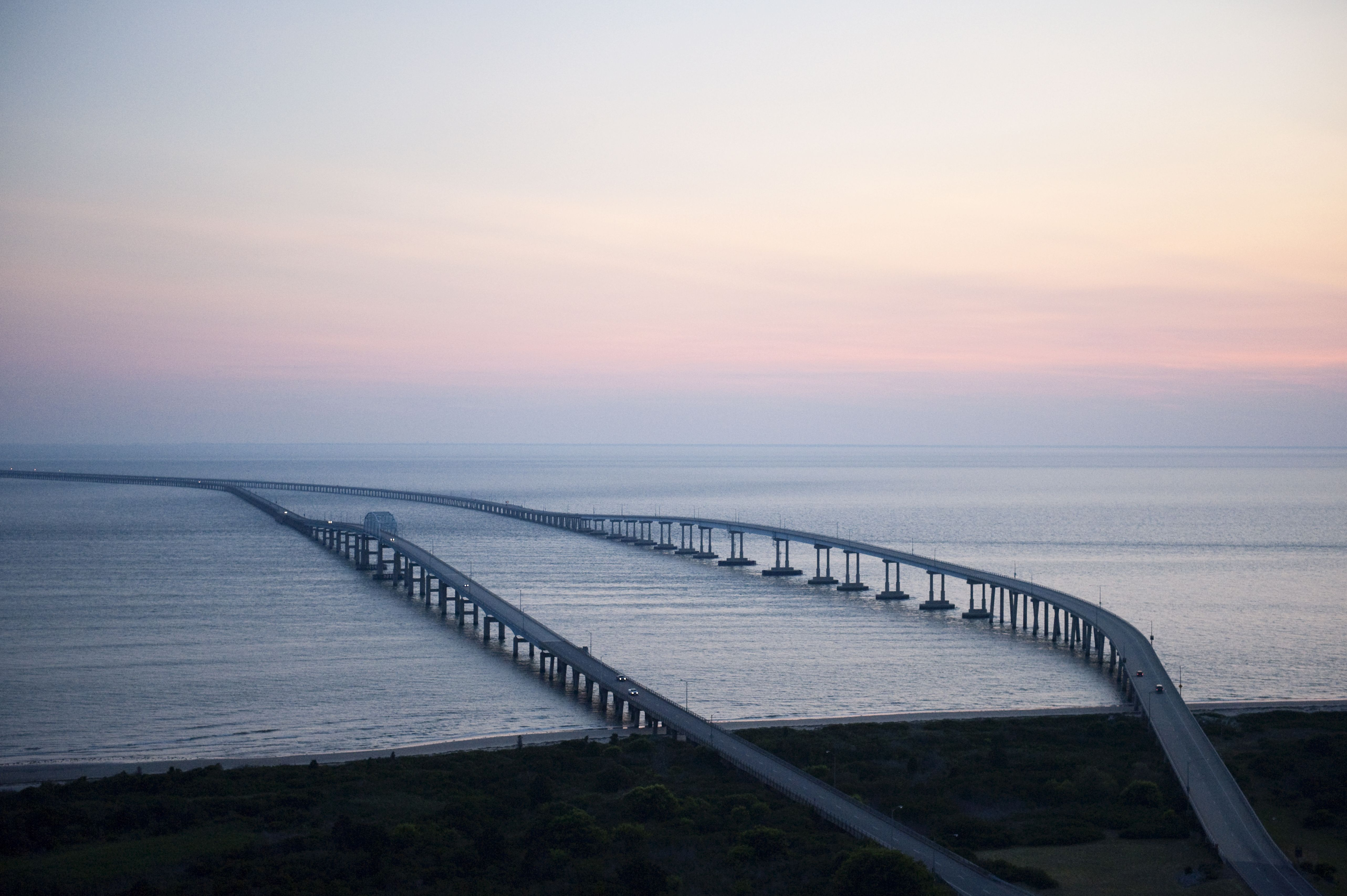 the bay bridge tunnel Divers have located one body after a tractor-trailer ran off the chesapeake bay- bridge tunnel during a storm friday evening authorities said.
