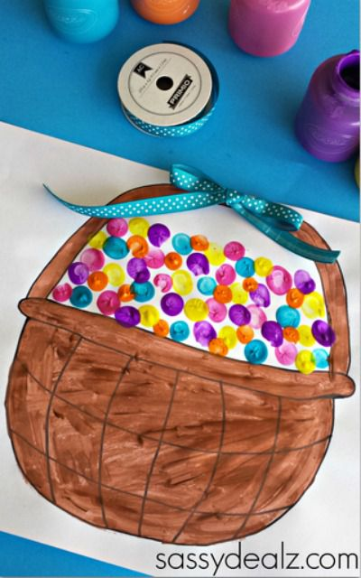 Easter Basket Kids Craft