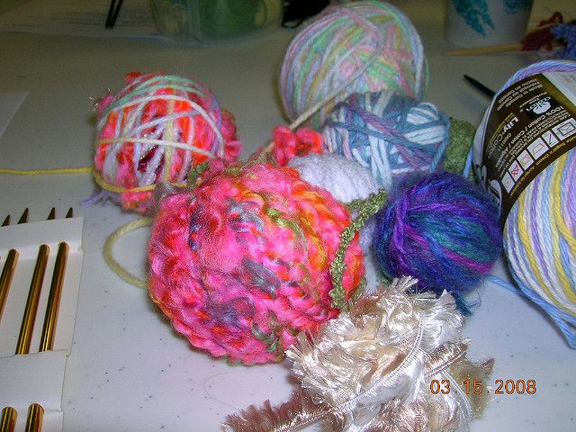 magic ball yarn for workshop