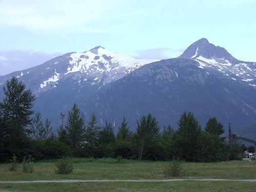 Skagway, Alaska Mountain View