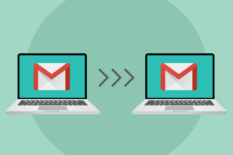 copying mail from one gmail account to the other