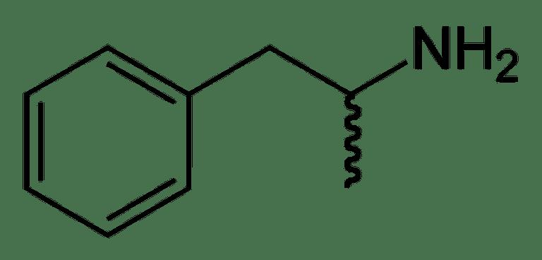 Amphetamine is 1-phenylpropan-2-amine.