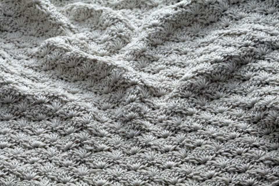Shell stitch crochet
