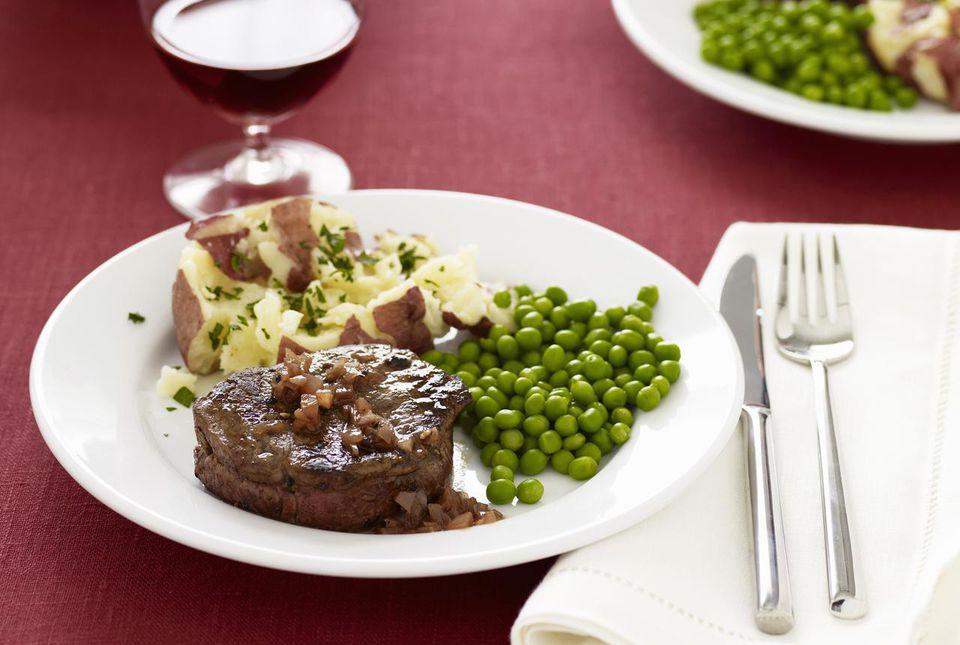 Beef tenderloin steak