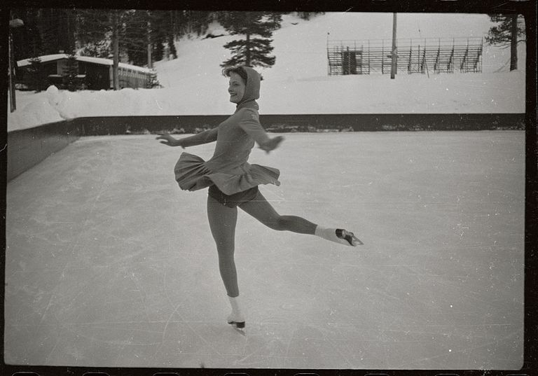 Carol Heiss Figure Skating at Olympics