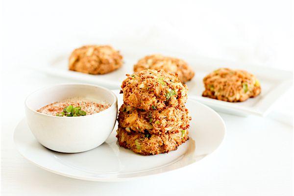 healthy crab cakes