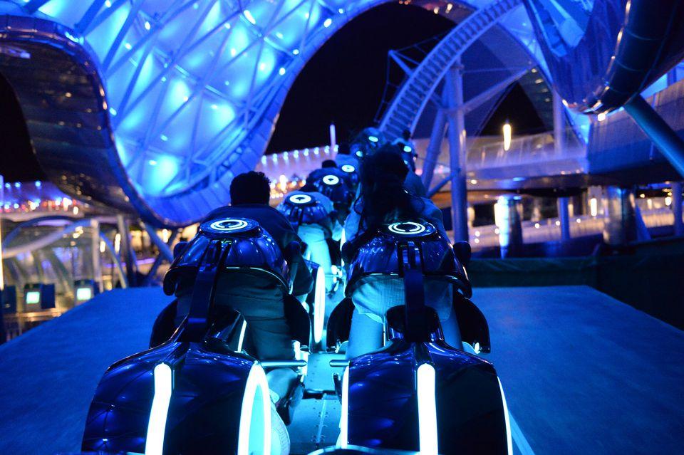 Shanghai Disneyland Tron Coaster