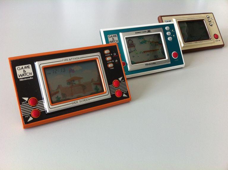 Antiguas consolas de videojuegos