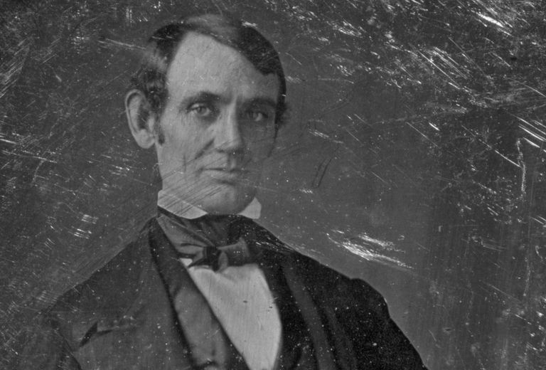 Daguerreotype of Abraham Lincoln taken in 1846