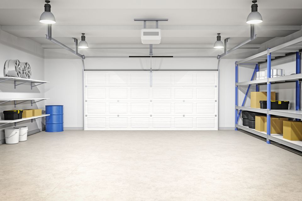How to Determine the Cost per Square Foot of Building a Garage