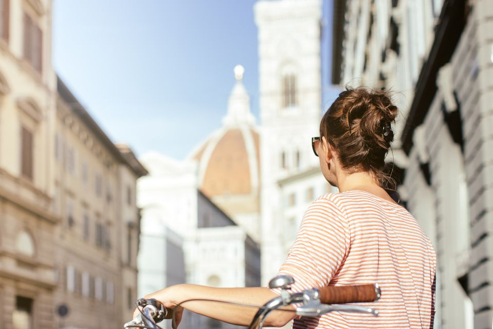 Cycling Florence, Italy