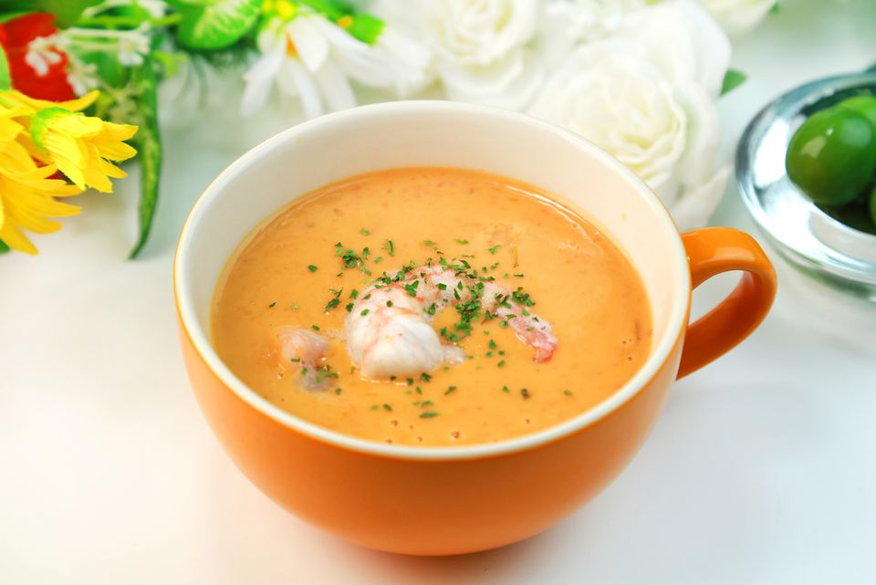 What is bisque? (Shrimp bisque)