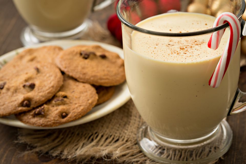 Eggnog And Cookies For Two
