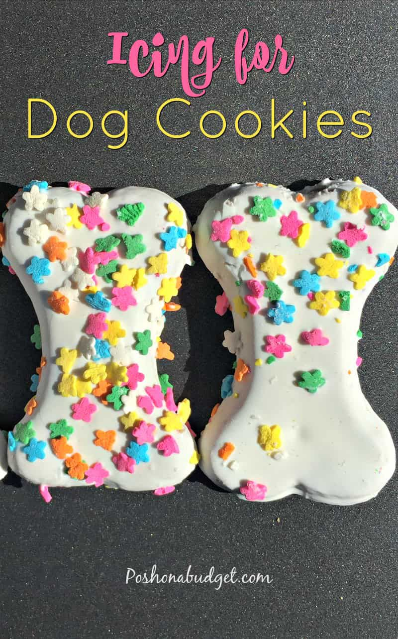 icing for dog treats
