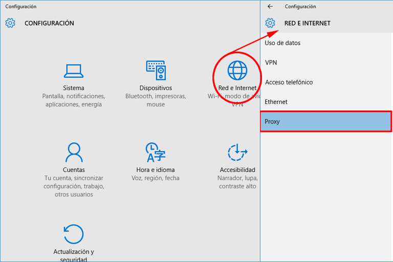 how can i fix the proxy server error in windows 10