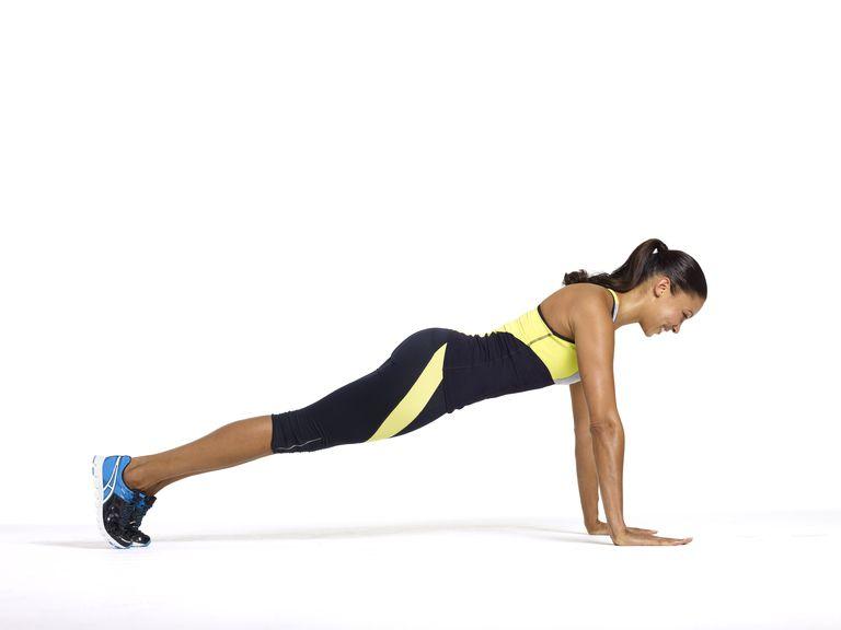 Yoga Plank Position
