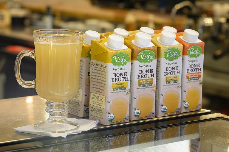 Pacific Foods bone broth product line