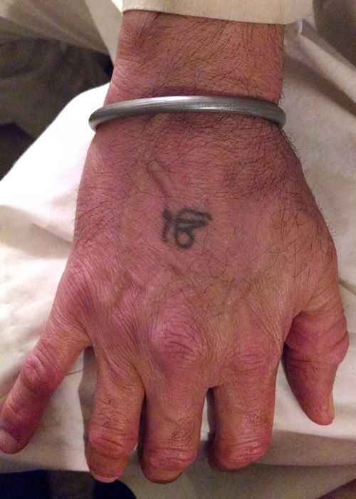 Ik Onkar Tattoo