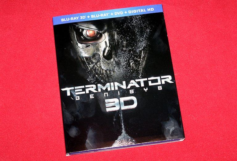Terminator Genisys - 3D Blu-ray Disc Pacakge