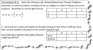 distance rate and time worksheets with answers. Black Bedroom Furniture Sets. Home Design Ideas